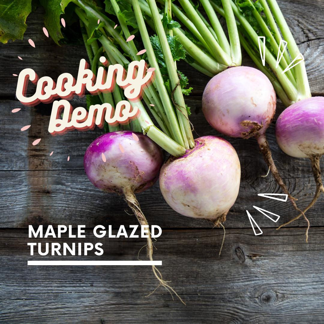 Maple turnips for eventbrite